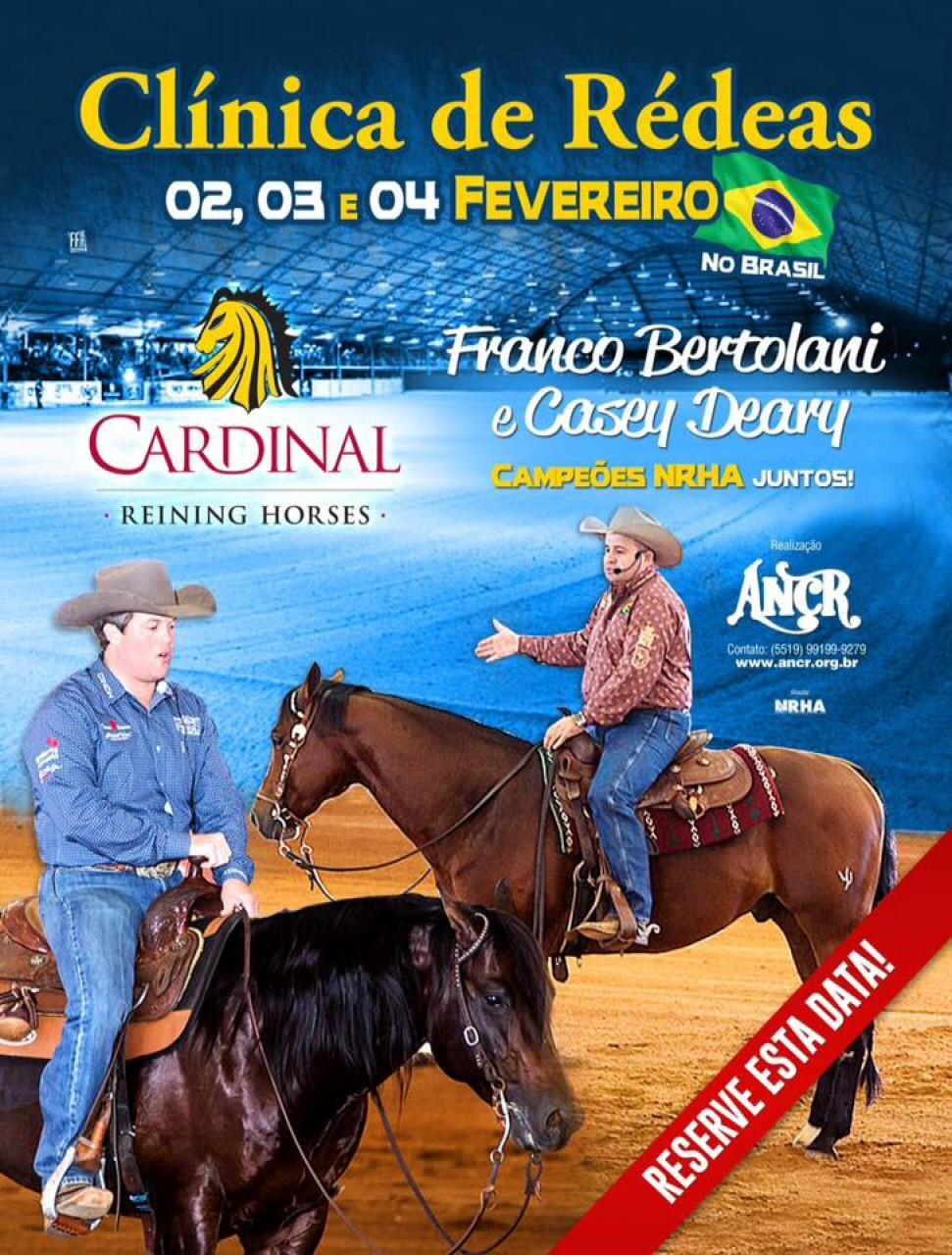 CLÍNICA DE RÉDEAS 02, 03, 04  DE FEVEREIRO